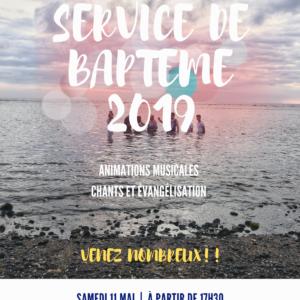 Service de Baptême à Saint-Leu