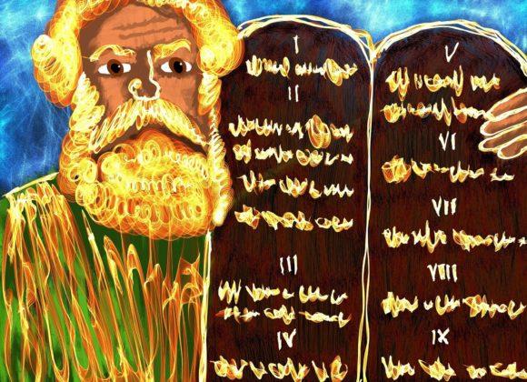 Moïse, homme de Dieu.