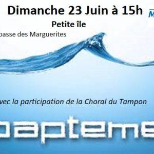 Service de baptême (Petite-île)
