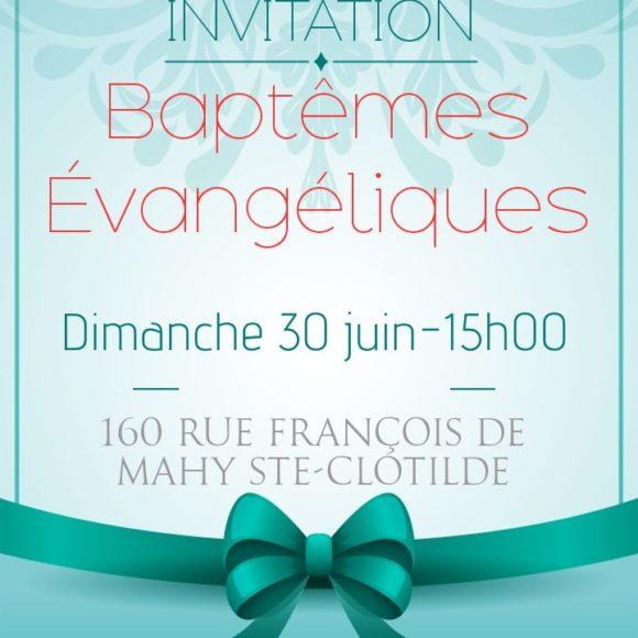 Service de baptême (Sainte Clotilde)