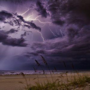 La tempête.