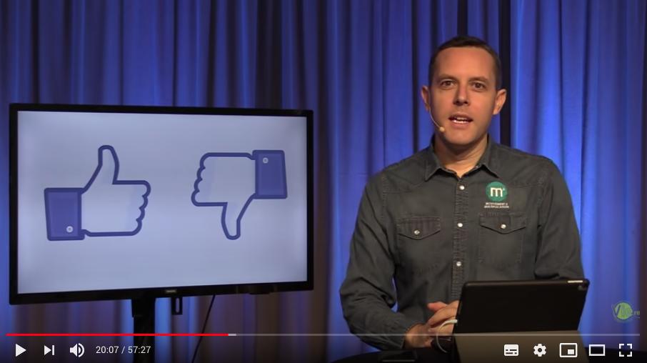 Une bonne utilisation des réseaux sociaux – pasteur Yann Antoine